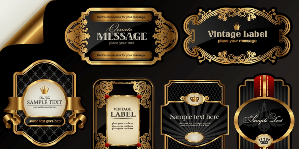 Label Printing Embellishments