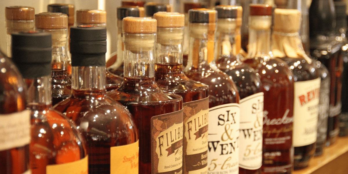 Spirit Bottle Label Printing