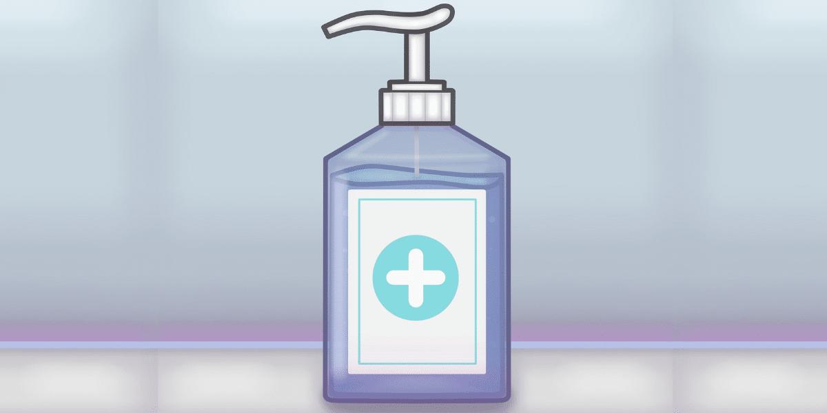 antibacterial labels