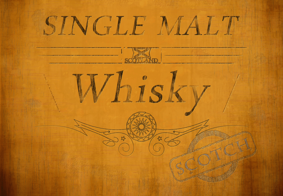 distillery-labels single malt whiskey