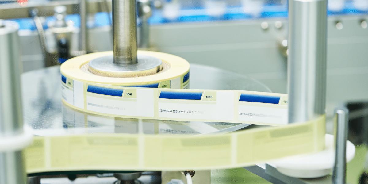 medical device label printing